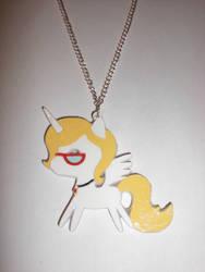 Bonnie Zacherle OC Paper Pendant by Bunnygirl2190