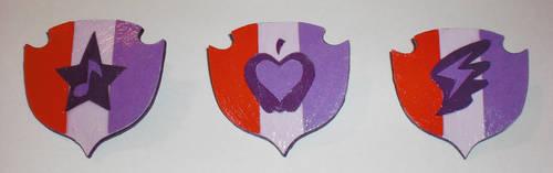 Cutie Mark Crusaders Cutie Mark Paper Pins by Bunnygirl2190