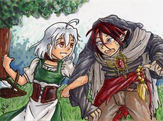 Arm-in-Arm by silver-dragonetsu