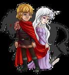 Ari Comm - The Last Unicorn by silver-dragonetsu