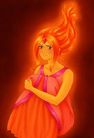 Flame Princess by Frotu
