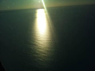 Sunlight on the Atlantic by Rothar