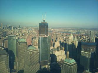 One World Trade Center - November 2011 by Rothar