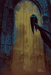 Batman by alliwonna