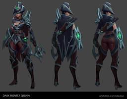 Dark hunter Quinn concept by AlexLao