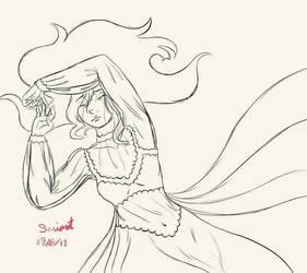 Mina Guilt sketch by tigerpixie16