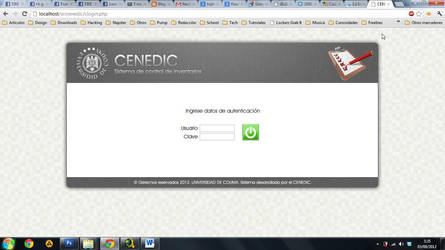 CENEDIC: Sistema de control de inventarios by OmikronD