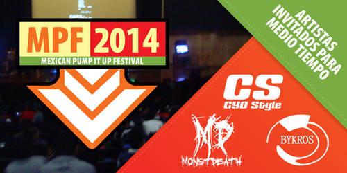 MPF 2014 - Artistas invitados para medio tiempo by OmikronD
