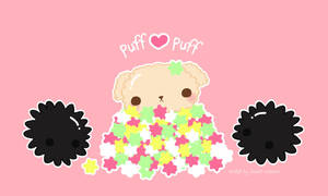 Puff puff and the creature by CrazyLleH