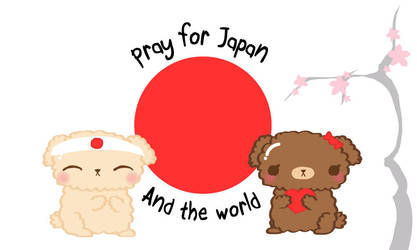 pray for japan by CrazyLleH