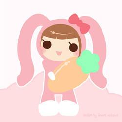bunny girl by CrazyLleH
