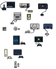 Consoles by gakusangi
