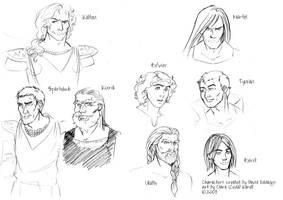 Elenium Knights by coda-leia