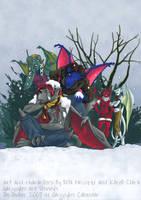 Garg Calendar 2007 - December by coda-leia