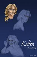 Kalten from Elenium by coda-leia