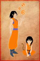 DAC - Goku by coda-leia