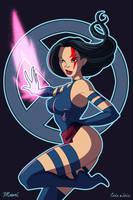 Psylocke by coda-leia