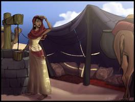 Djamila for Hito by coda-leia