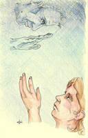 Farewell, beloved Leonard Nimoy by AloiInTheSky