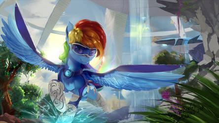 Freepegasus colonist by DiscordTheGE