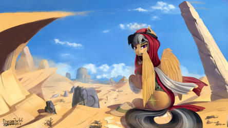 A.K. Yearling, an archaeologist by DiscordTheGE