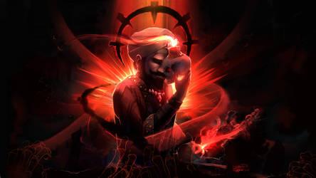 Hopeless occultist (Darkest Dungeon) by DiscordTheGE