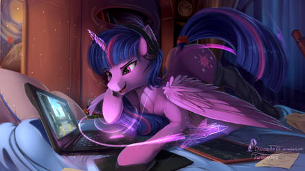 Student reality by DiscordTheGE