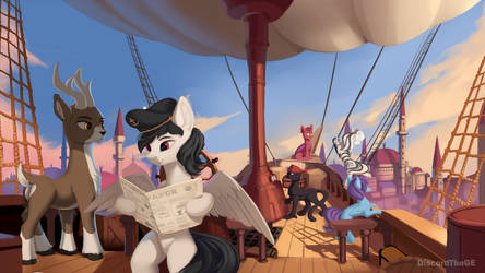 Flying to the East by DiscordTheGE