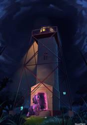 Mystery Lighthouse by DiscordTheGE