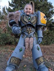 Warhammer 40k Space Wolf Boy - Cosplay Costume by Killhunger