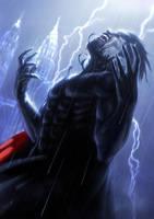Symbiote bonds Morbius by Memed