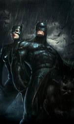 catwoman batman by Memed