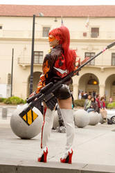 Yoko Ritona cosplay by LittleLordChaos