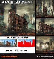 Apocalypse Photoshop Action by GraphixRiver