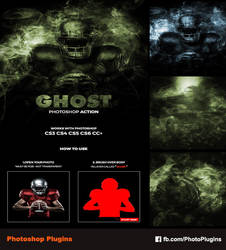 Ghost Photoshop Action by GraphixRiver
