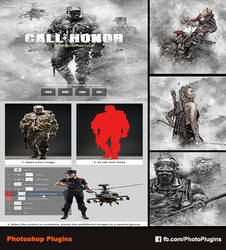 Call of Honor Photoshop Action by GraphixRiver