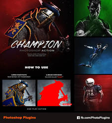 Champion Photoshop Action by GraphixRiver