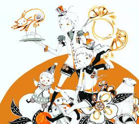 Orange Pepper by Pochi-mochi