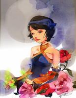 Rose Garden by Pochi-mochi