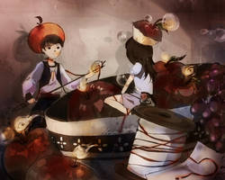 Forbidden Fruit Romance by Pochi-mochi