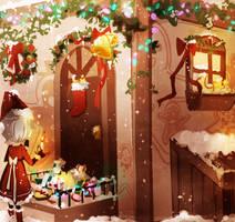 Happy Holidays 2011 by Pochi-mochi