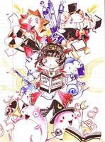Maplestory Loose Leaf Doodle by Pochi-mochi