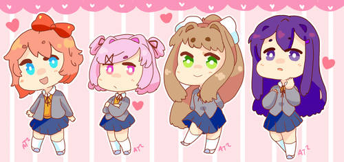 DDLC by Artist-squared