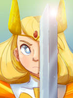 She-ra by Artist-squared
