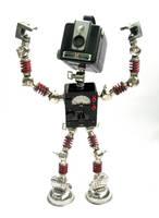 IBM - Robot Sculpture by adoptabot