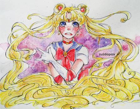 SPEEDPAINT: Sailor moon by zuzdapax