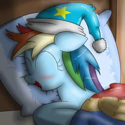 Sleeping Rainbow by Ziemniax