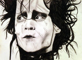 Edward Scissorhands by KayleeBerry97