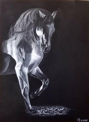 Charcoal Horse- donation by Fire-Redhead