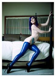 Blue Latex by HereticPandora